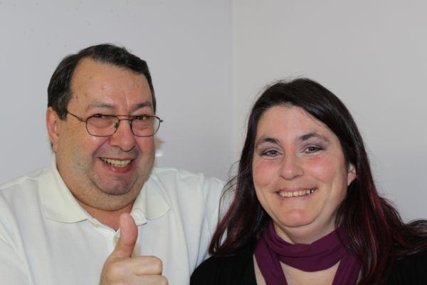 Pierre Gordon et Nancy Gauthier, représentants des locataires élus au CA de l'OMH du Haut-Richelieu