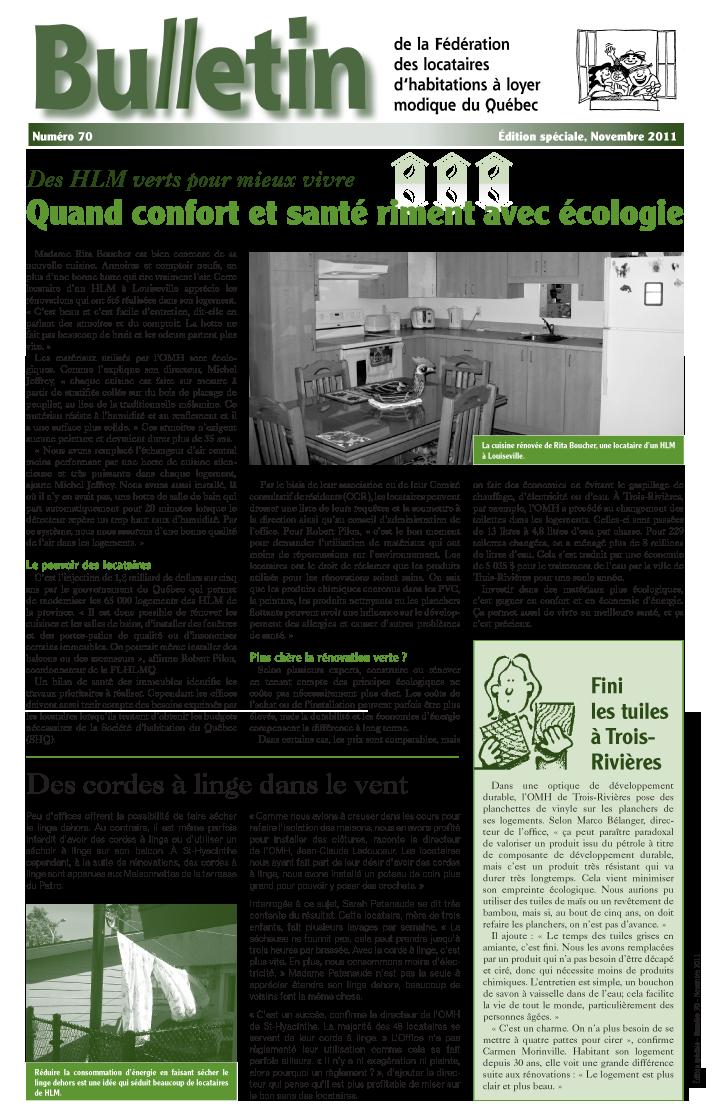 premièere page bulletin